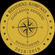 Residenz-Kompass-Siegel: Agaplesion Residenz Havelgarten