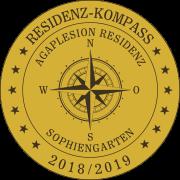 Residenz-Kompass-Siegel: Agaplesion Residenz Sophiengarten
