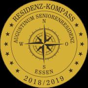 Residenz-Kompass-Siegel: Augustinum Seniorenresidenz Essen