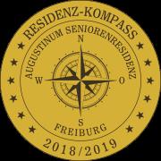 Residenz-Kompass-Siegel: Augustinum Seniorenresidenz Freiburg
