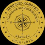 Residenz-Kompass-Siegel: Augustinum Seniorenresidenz Hamburg