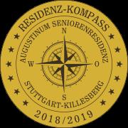 Residenz-Kompass-Siegel: Augustinum Seniorenresidenz Stuttgart-Killesberg