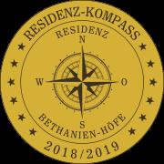Residenz-Kompass-Siegel: Seniorenresidenz Bethanien-Höfe