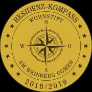 Residenz-Kompass-Siegel: Seniorenresidenz Wohnstift am Weinberg